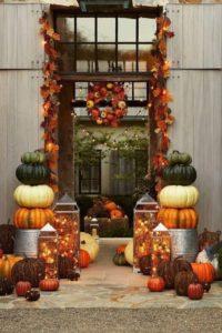 Décorations et délices d'Halloween