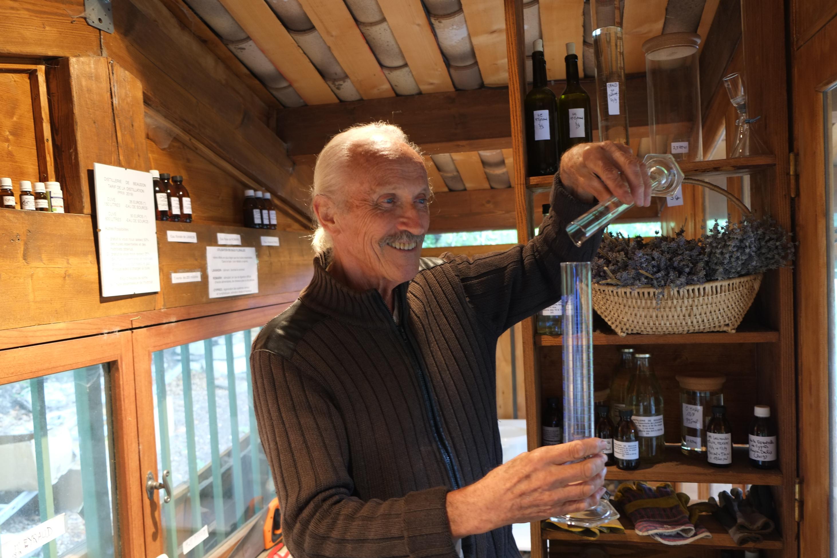 Michel Brette – Un distillateur passionné